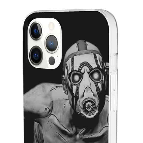 Borderlands Psycho Bandit Monochrome iPhone 12 Case