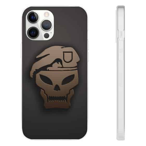 Call of Duty Black Ops III Skull Logo iPhone 12 Cover