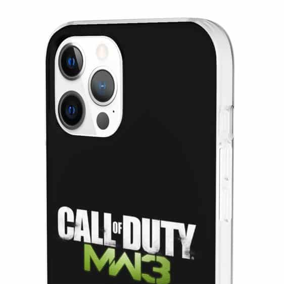 Call of Duty Modern Warfare 3 Black iPhone 12 Case