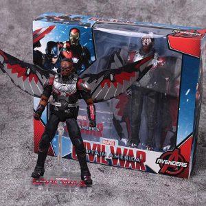 Captain America Civil War EXO-7 Falcon Poseable Figure