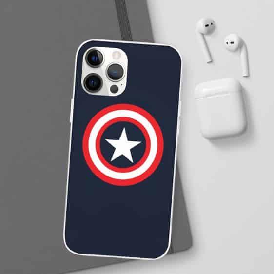 Captain America's Vibranium Shield Logo iPhone 12 Case
