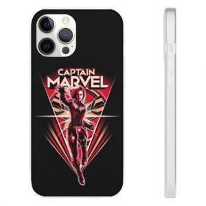 Carol Danvers MCU Captain Marvel Black iPhone 12 Cover