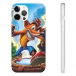 Crash Bandicoot Main Protagonist iPhone 12 Fitted Case