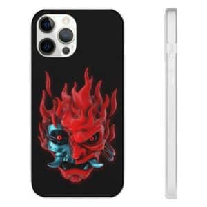 Cyberpunk 2077 Android Devil Black iPhone 12 Cover