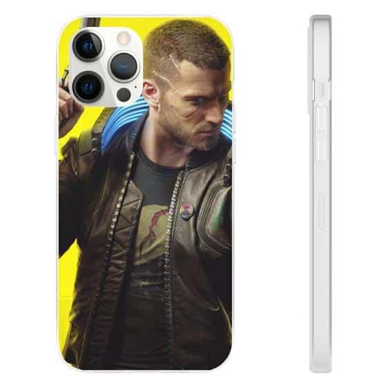 Cyberpunk 2077 Mercenary Vincent Yellow iPhone 12 Case