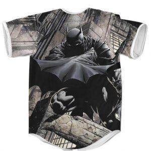 DC Comics Hero Batman Gotham City Epic Baseball Jersey