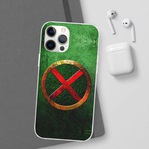 DC Comics Martian Manhunter Logo Green iPhone 12 Cover