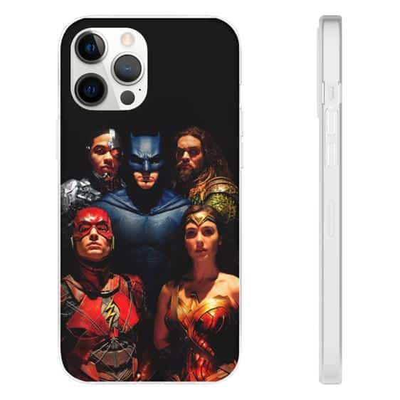DC Movie Justice League Superheroes iPhone 12 Fitted Case