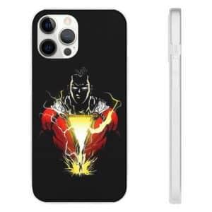 DC Shazam Magic Lightning Emission Black iPhone 12 Case