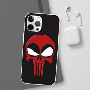 Deadpool and The Punisher Funny Logo Parody iPhone 12 Case