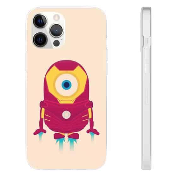 Despicable Me Minion Iron Man Parody iPhone 12 Case