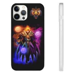 Dota 2 Carl the Invoker Immortal Black iPhone 12 Case