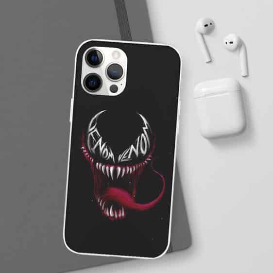 Eddie Brock Venom Alien Symbiote Black iPhone 12 Case