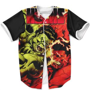 Fearless World War Hulk Comic Crossover Awesome MLB Jersey