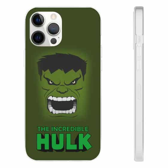 Fierce The Incredible Hulk Green iPhone 12 Fitted Case