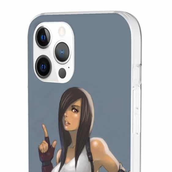 Final Fantasy Tifa Lockhart Fan Art iPhone 12 Fitted Case