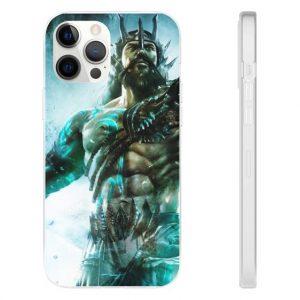 God of War Ascension Poseidon Ocean God iPhone 12 Case