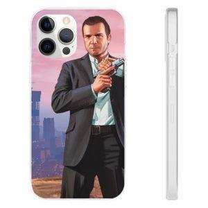 Grand Theft Auto V Cool Michael De Santa iPhone 12 Case