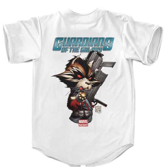 Guardians Of The Galaxy Rocket Raccoon Badass Baseball Jersey