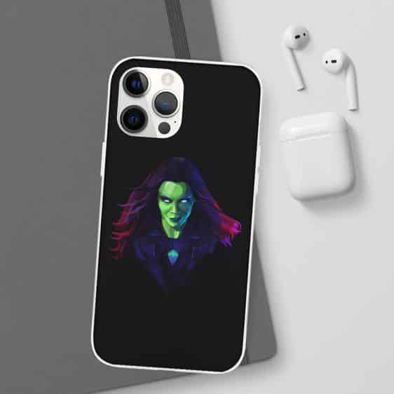 Guardians of the Galaxy Gamora Fan Art iPhone 12 Cover
