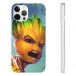Guardians of the Galaxy Kid Groot Vibrant iPhone 12 Case