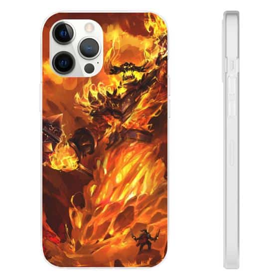 Hearthstone Legendary Ragnaros the Fire Lord iPhone 12 Case
