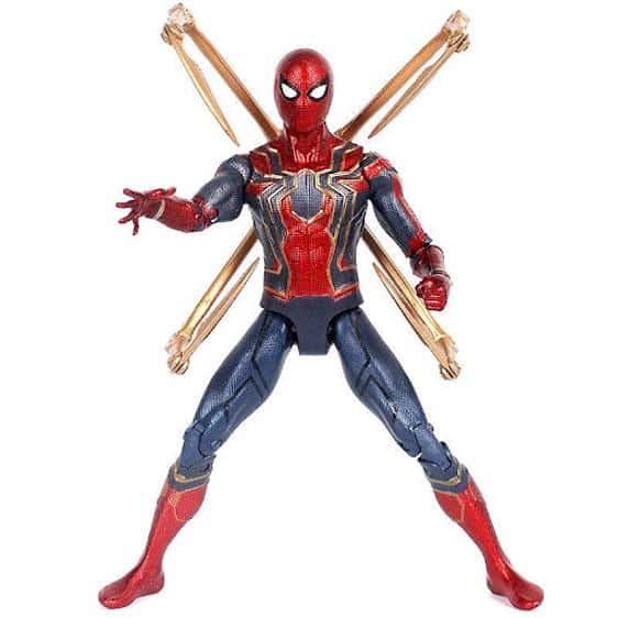 Infinity War Spider-Man Iron Spider Armor Action Figure