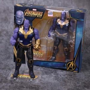 Infinity War Thanos Genocidal Warlord Movable Joint Figure