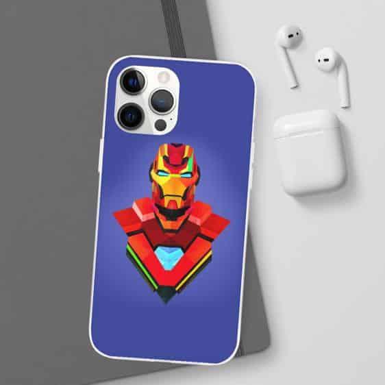 Iron Man Armor Design Colours Purple iPhone 12 Cover