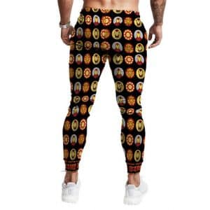 The Invincible Iron Man Tony Stark Awesome Pattern Joggers