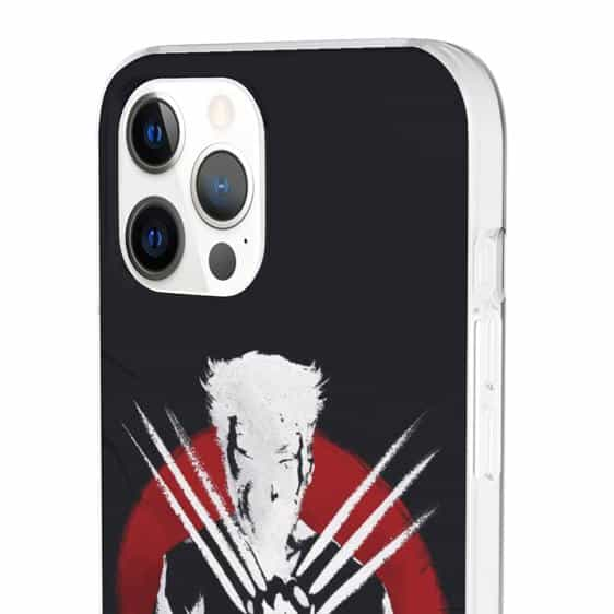 James Logan Howlett Wolverine Silhouette iPhone 12 Case