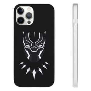 MCU Black Panther Costume Art Black iPhone 12 Case