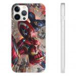 Iron Man Vs Captain America Civil War Comics iPhone 12 Case
