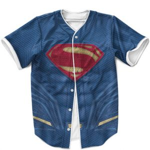 Man Of Steel Superman Costume Amazing MLB Baseball Shirt