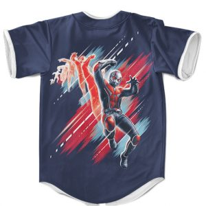 Marvel Ant-Man Transformation Awesome Navy Blue MLB Jersey