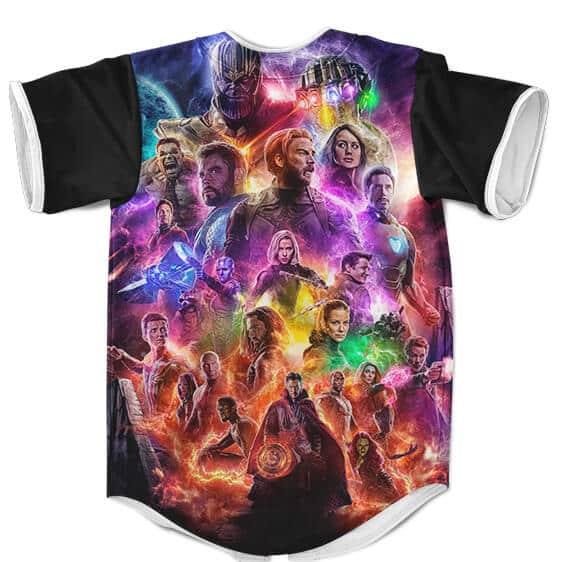 Marvel Avengers Endgame Movie Poster MLB Baseball Uniform