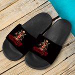 Marvel Comics Anti-Hero Deadpool Badass Slide Sandals