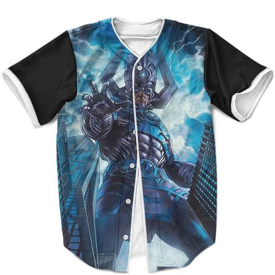 Marvel Comics Galactus Invading Earth Dope Baseball Jersey
