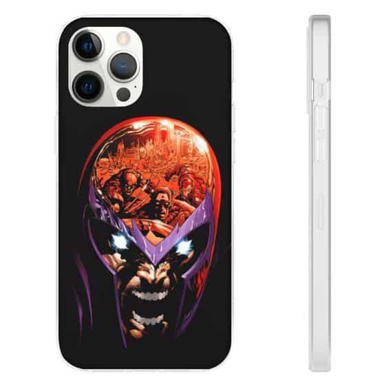 Marvel Comics Powerful Mutant Magneto X-Men iPhone 12 Case