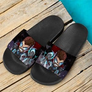 Marvel Comics Vicious Thor God Mode Dope Slide Sandals