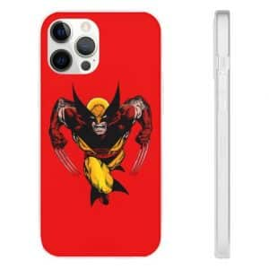 Marvel Comics X-Men's Wolverine Red iPhone 12 Cover
