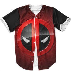 Marvel Deadpool Minimalistic Head Art Cool Baseball Uniform