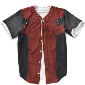 Marvel Mercenary Deadpool Suit Costume Amazing MLB Uniform