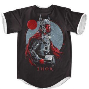 Marvel Thor God Of Thunder Artwork Amazing Baseball Shirt