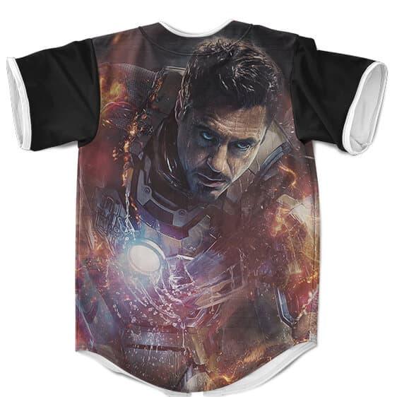 Marvel Tony Stark Iron Man 3 Poster Awesome Baseball Jersey