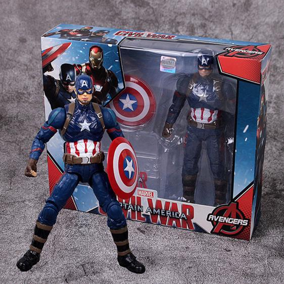 Marvel's Captain America Civil War Movable Joint Toy