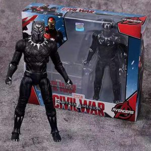 Marvel's Civil War Black Panther Movable Joint Toy