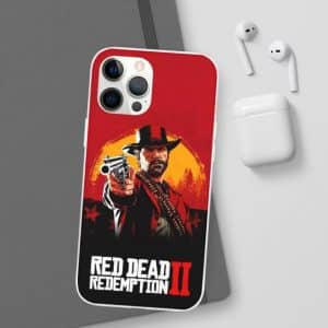 Red Dead Redemption 2 Arthur Morgan Red iPhone 12 Cover