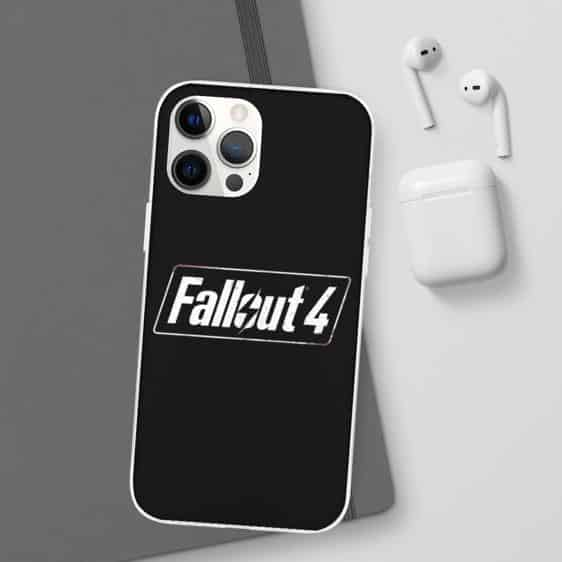 Role-Playing Game Fallout 4 Logo Black iPhone 12 Cover