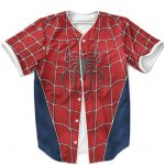 Spider-Man Suit Inspired Cosplay Awesome Baseball Jersey